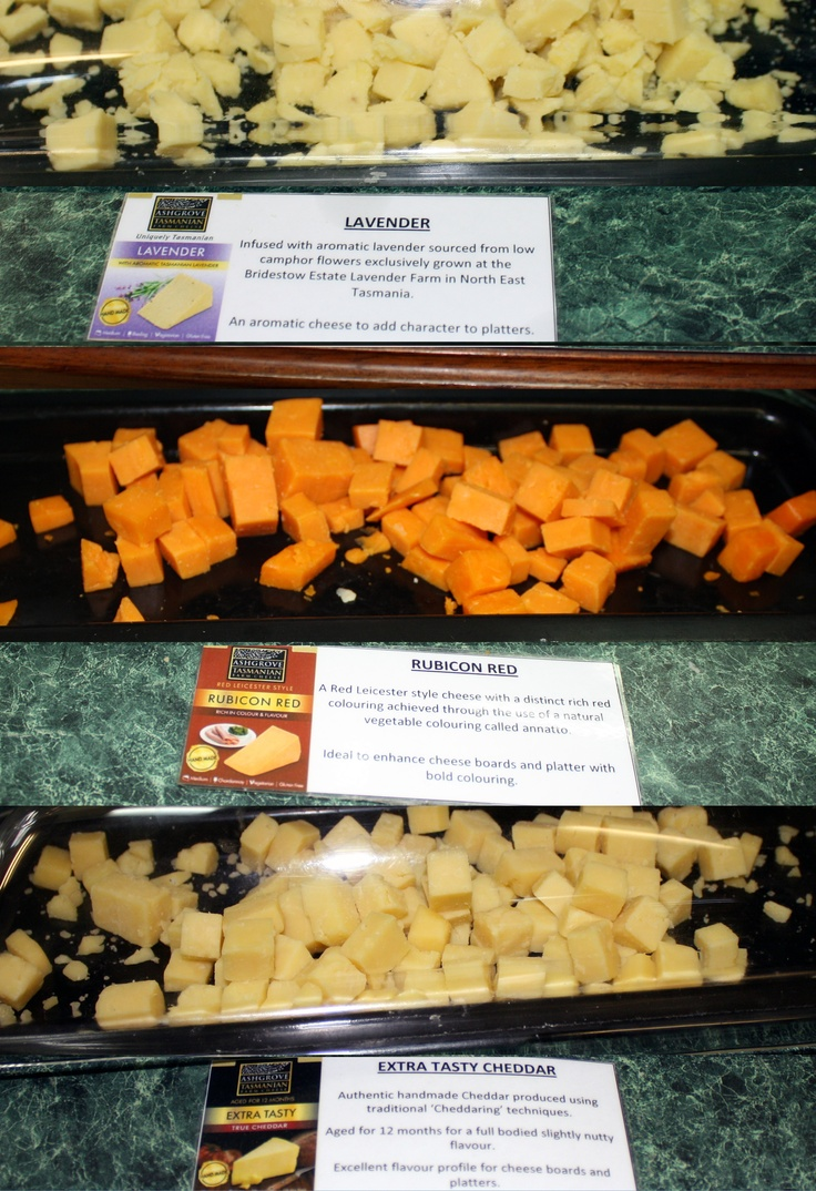 Cheese tasting from Ashgrove