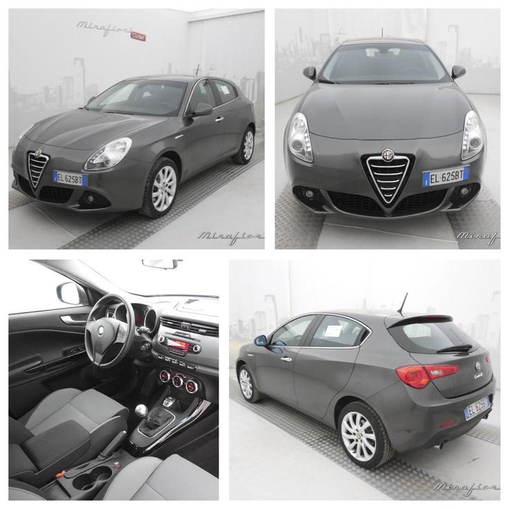 Alfa Romeo Giulietta 2.0 JTDM 140 CV Distinctive, color grigio antracite. Puoi trovarla a Bologna a 16.800€. #AlfaRomeo #mirafiorioutlet #lanostravetrina #usato