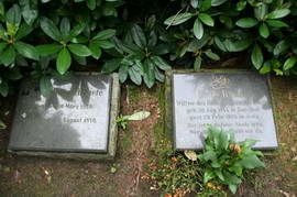 The graves of Salima / Emily and Heinrich in Hamburg
