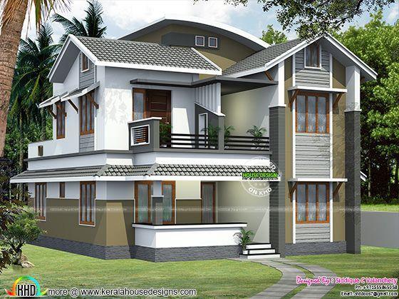 Modern house 1590 square feet