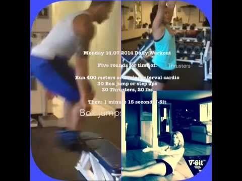 Monday 14.07.2014 Daily Workout