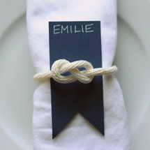 Sailor Knot Accents - Project Wedding