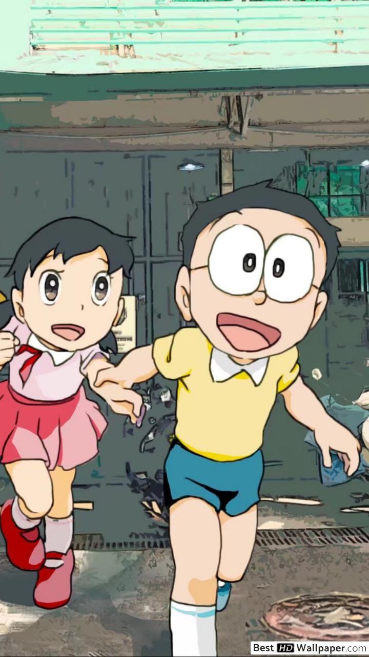 Wallpaper Doraemon Romantis Mulai Dari Yang Keren Lucu Sedih Romantis Galau Baper 3d Hd Untuk Grafit In 2020 Doraemon Wallpapers Hd Anime Wallpapers Cartoon Wallpaper