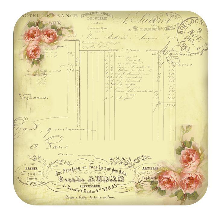431 best Victorian decoupage images on Pinterest Vintage images - sample staff paper