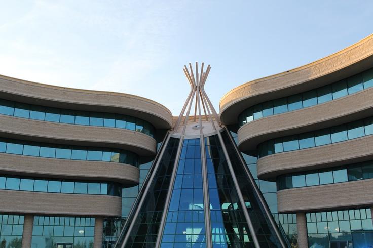 Douglas Cardinal, Architect. Regina, Saskatchewan