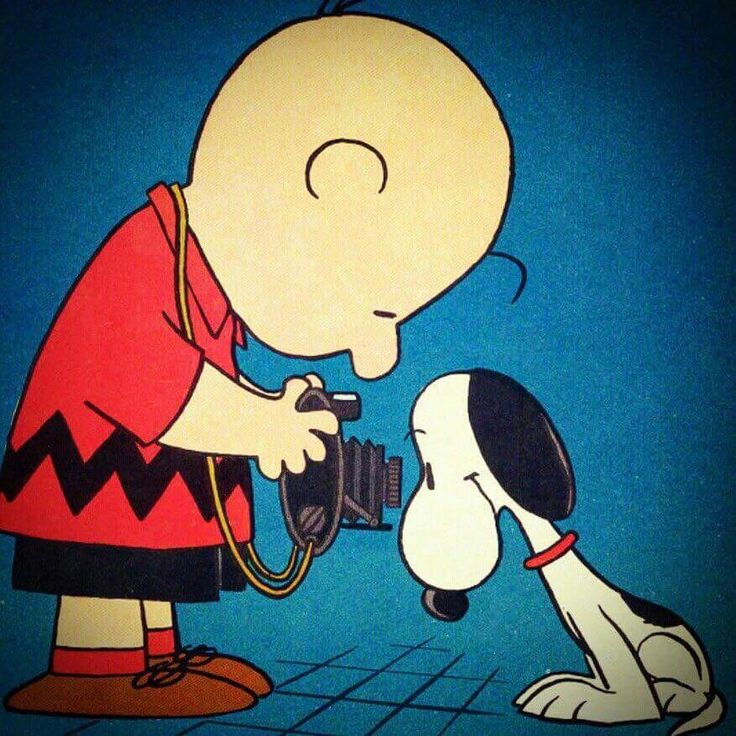 Snoopy camera with Charlie Brown