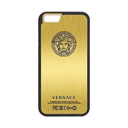 iPhone 6 4.7 Inch & iPhone 6s 4.7 Inch Cell Phone Case black Versace Brand Logo Custom Phone Cover QWE2519228