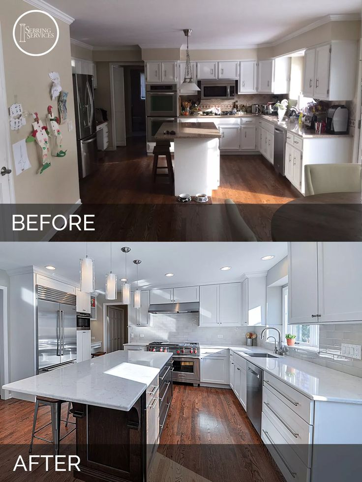 Renovation Ideas Before And After best 25+ before after kitchen ideas on pinterest | before after