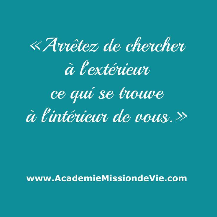 Pour tout découvrir sur l'Académie Mission de Vie, cliquez sur l'image.