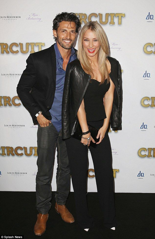 Anna Heinrich and Tim Robards.. Stanzee jacket, Zara pants and top, with 8 Other Reasons accessories..