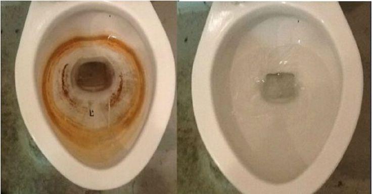 Acaba con el sarro de tu inodoro utilizando este fabuloso truco casero ¡Buenísimo!