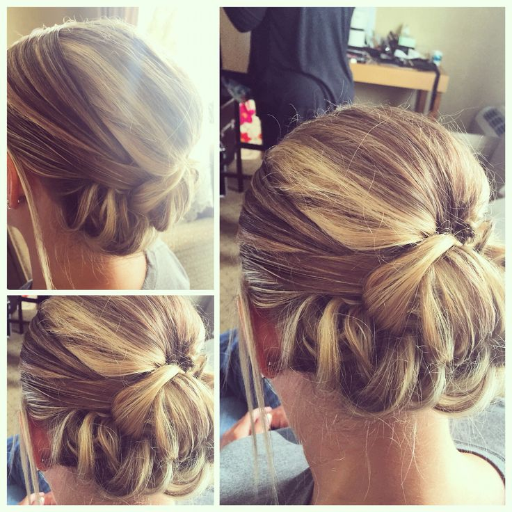curlsbycole hair stylist bridal party brides hair updo curls blonde elegant sophisticated event special day - Freelance Hair Stylist