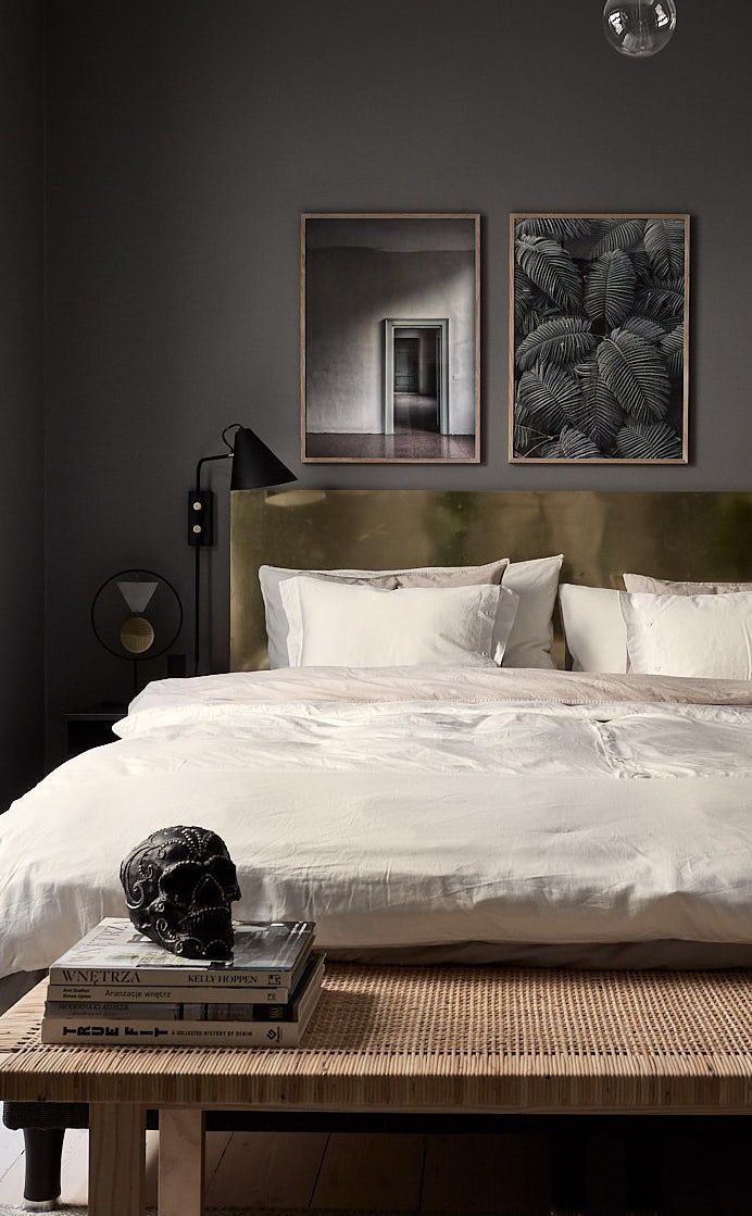 Stylish And Cozy Home With Dark Walls Coco Lapine Design Luxurious Bedrooms Bedroom Interior Couple Bedroom