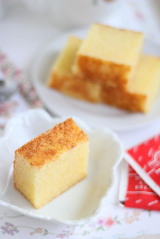 Words Cannot Describe ...Butter Almond Cake !!