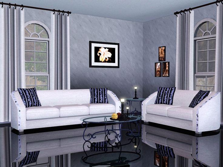 Beige Living Room Silver by Flowarin
