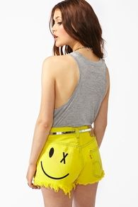 ; )Beautiful Summer, Smileys Cutoffs, Summer Outfit, Clothing Collection, Cutoff Shorts, Nasty Gal, Jeans Shorts, Summer Clothing, Cutoffs Shorts