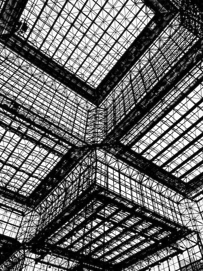 intricate geometric architecture? A sense of 3D? Depth? Does the image pull you in?