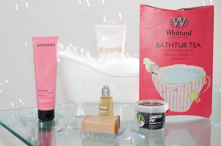 Best bath products! #lamer #sephora #lush #whittard #lóccitane