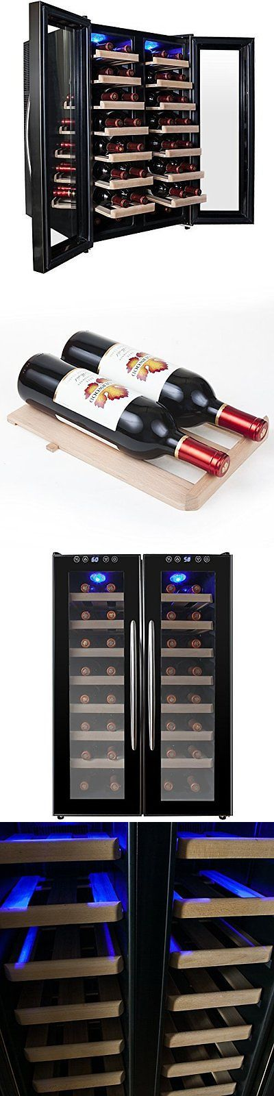 Wine Fridges and Cellars 177750: Akdyâ® 32 Bottle Dual Zone Thermoelectric Freestanding Wine Cooler Cellar Chille -> BUY IT NOW ONLY: $339.99 on eBay!