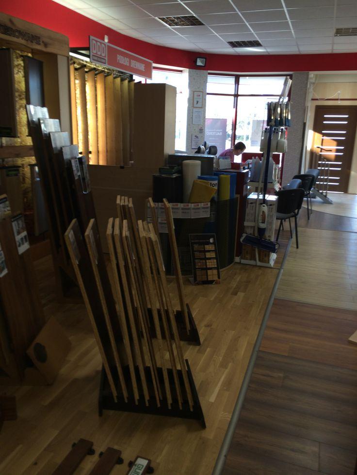 Ekspozycja podłóg drewnianych