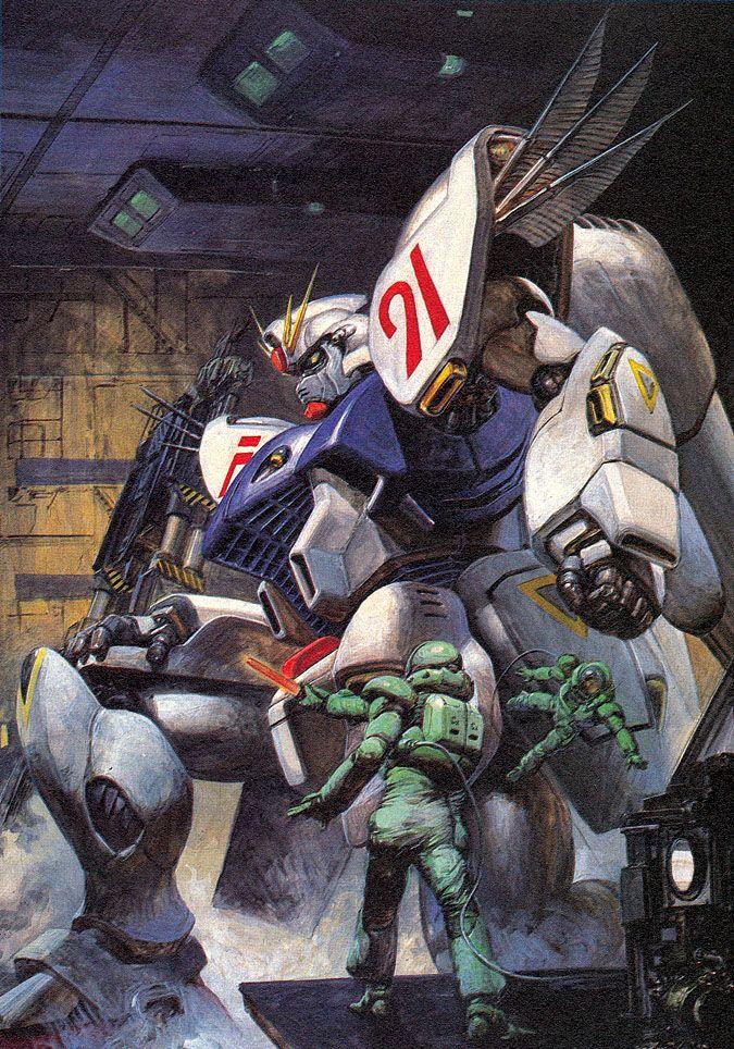 機動戦士ガンダムF91 - 高荷義之   Mobile Suit Gundam Formula 91 by Yoshiyuki Takani *