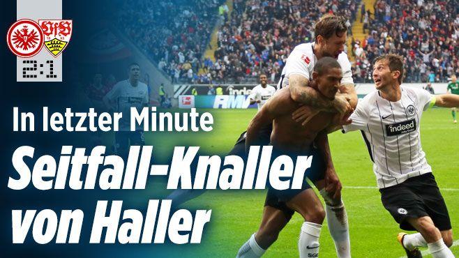 Eintracht Frankfurt gegen VfB Stuttgart - Bild.de