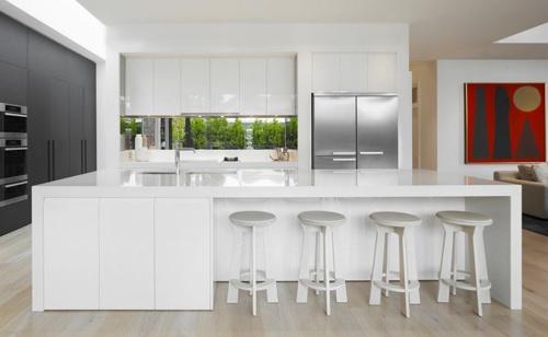 :: heart :: the simple kitchen design of DMH Residence by MIM Design