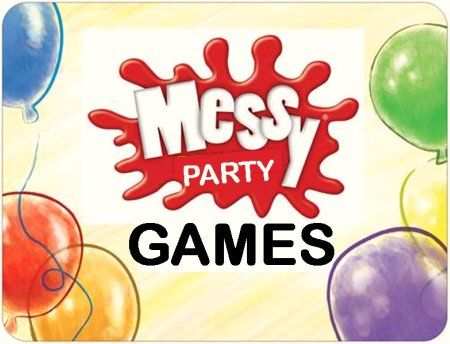Top 10 Messy Party Games for Kids Birthday Parties -good for cooking theme.
