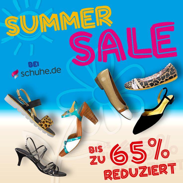 +++ Sommer Sale bei schuhe.de +++ Schicke Ballerinas, Sandaletten & Co. bis zu 65 % reduziert! http://www.schuhe.de/damenschuhe-reduziert