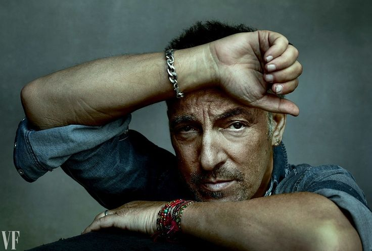 """Bruce Springsteen, photographed in Clichy, France, during his River Tour. Photograph by Annie Leibovitz for """"Portraits of Bruce Springsteen"""" editorial, Vanity Fair September 2016."""