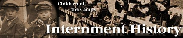 """Japanese Internment Camps - """"Most of the 110,000 persons removed for reasons of 'national security' were school-age children, infants and young adults not yet of voting age."""""""