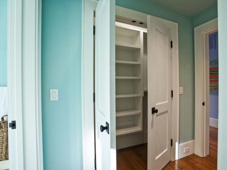 More storage for blankets, clothing and decorative accessories, a 2- by 7-foot closet is situated in the twin suite hallway.