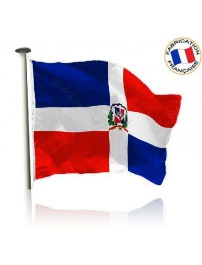Drapeau République Dominicaine Made In France by Manufêtes