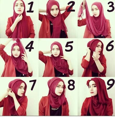 Classy Hijab Tutorial for All Events