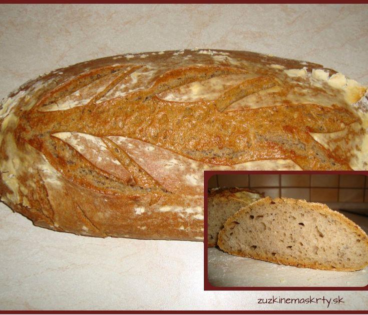 Cesnakový kváskový chlieb