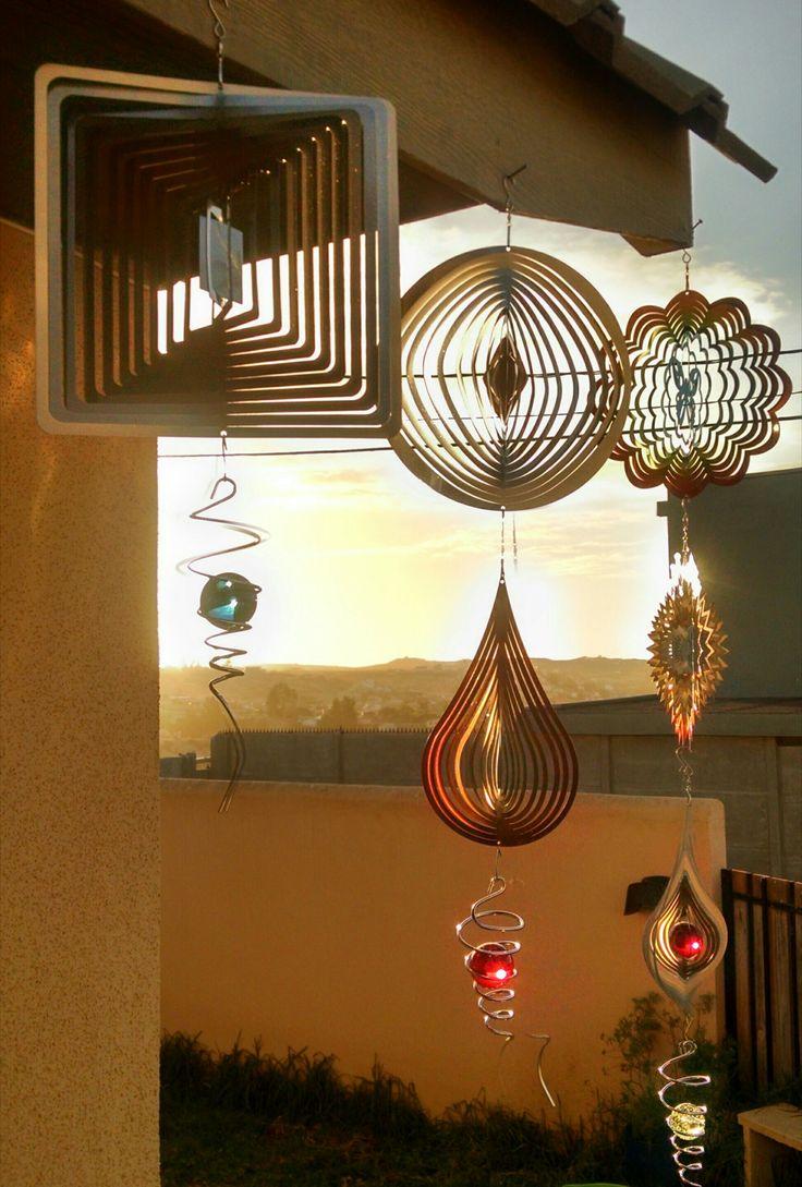 Bellos Hilanderos de Viento para decorar.