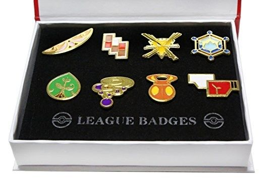 Pokémon gym badges for people who were jealous of Ash throughout their entire adolescense. | 19 Awesome Products From Amazon To Add To Your Wishlist