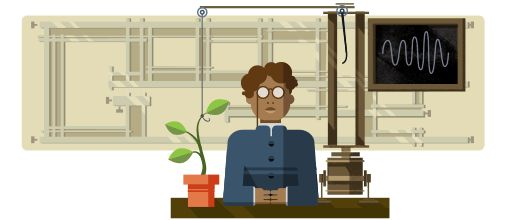 Jagdish Chandra Bose's 158th birthday: http://www.independent.co.uk/news/people/jagadish-chandra-bose-158-birthday-who-is-he-google-doodle-scientist-crescograph-biophysics-a7445526.html