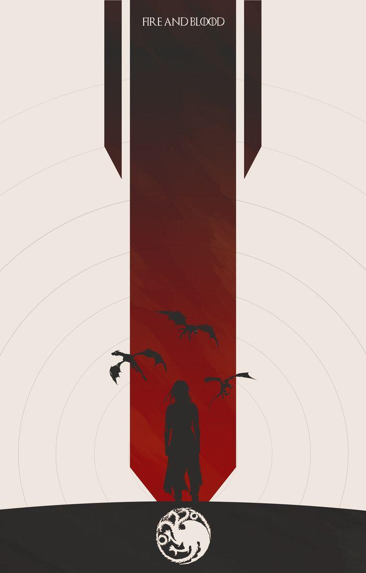 Game of Thrones, Targaryen Banner Created by Colin Morella