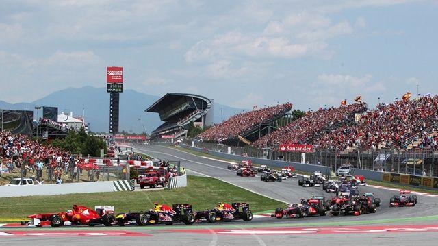 Grand Prix Formula 1, Barcelona, Spain