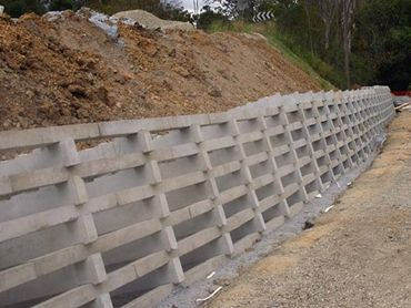Retaining Walls, Concrete Crib And Sleeper Wall Systems by ...
