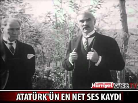 Atatürk'ün En Net Ses Kaydı 2012