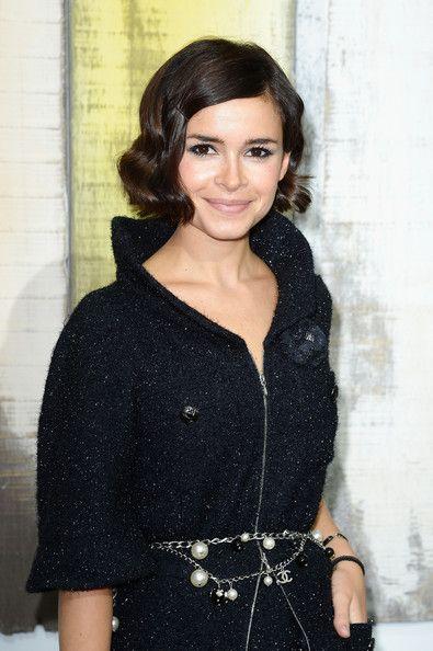 Miroslava Duma Finger Wave - Short Hairstyles Lookbook - StyleBistro