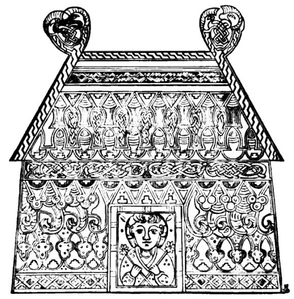 temple from the book of kells