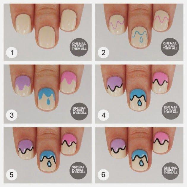 14 diseños de uñas: paso a paso - Imagen 5