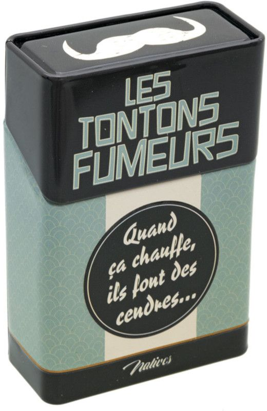 """Dessin Paquet De Cigarette cache paquet de cigarettes """"les tontons fumeurs""""   objets deco et"""