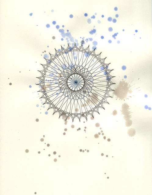 40 best images about spirograph designs on pinterest toys circles and patterns - Spirograph clock ...