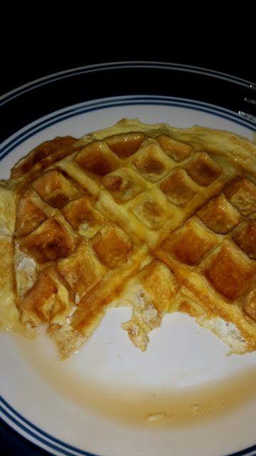 Low Carb Cream Cheese Waffle Recipe - Allthecooks.com