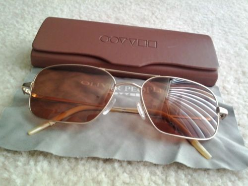 09a4b334fd43 Beautiful Oliver Peoples Victory Sunglasses