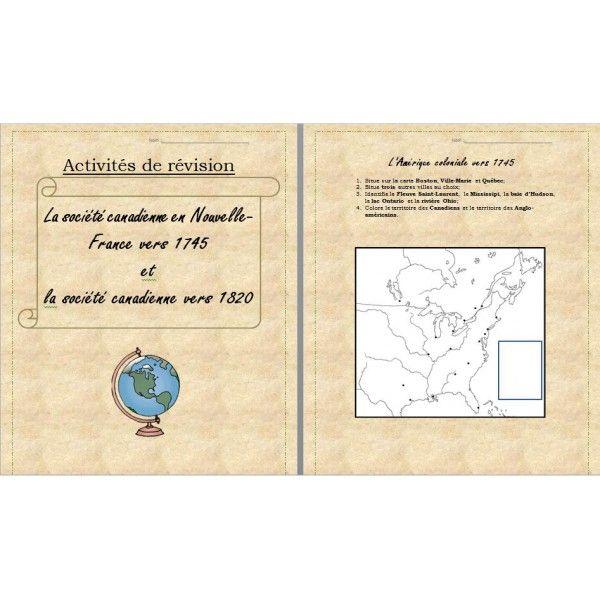 Révision - Univers social - Canada 1745-1820